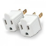 2-Pack CyberPower Grounding Adapters