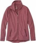 L.L. Bean Women's Herringbone Full-Zip Jacket in 4 Colors – $29.99 Today