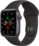 Apple Watch Series 5 w/ Black Sport Band (GPS, 40mm, Space Gray)