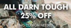 Darn Tough Socks 25% off @ GoBros.com