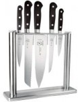 6-Piece Mercer Culinary Renaissance Forged Knife Set w/ Tempered Glass Block