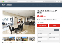Responsive Real Estate Theme – 75% OFF